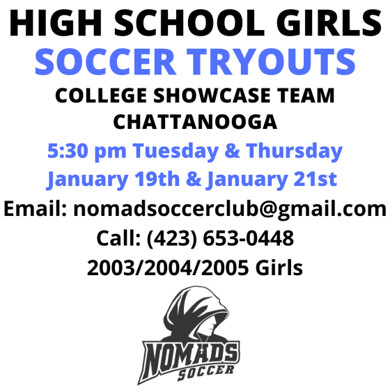 College Showcase Soccer Tryouts 2021